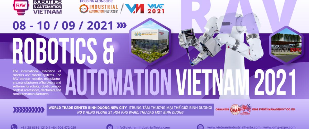 RAV - ROBOTICS AUTOMATION VIETNAM 2021