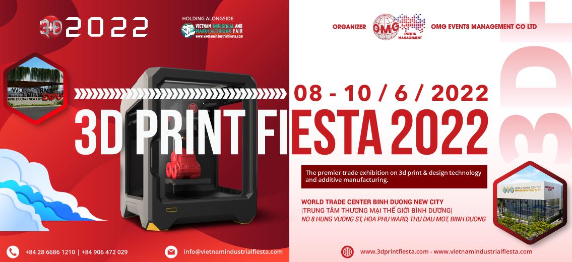 3DF 2022- 3D PRINT FIESTA